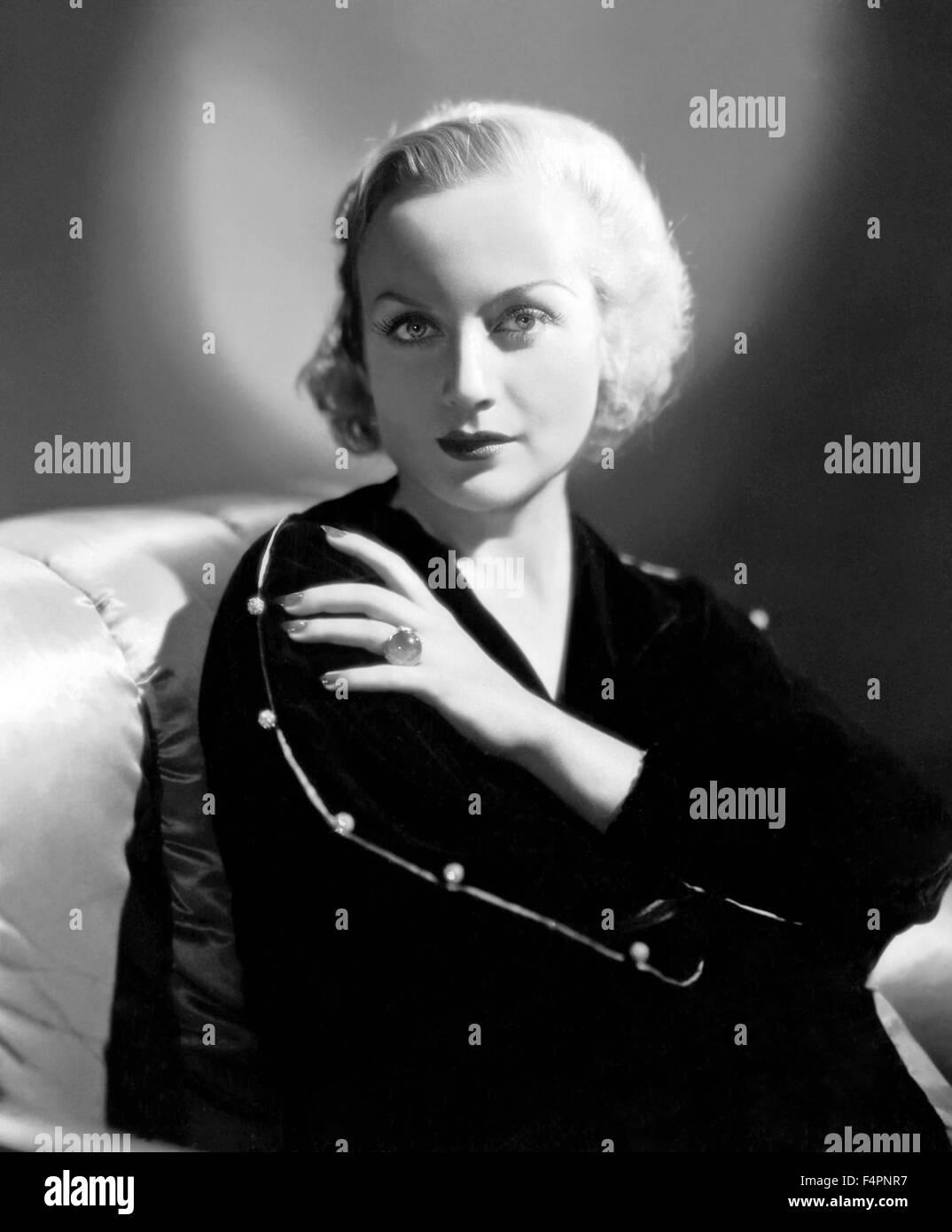 Carole Lombard, circa 1930 Immagini Stock