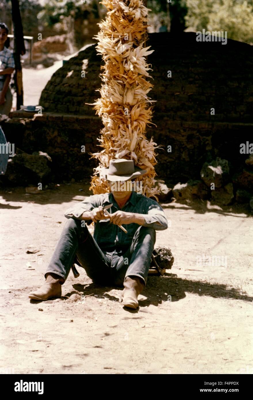Charles Bronson / I magnifici sette / 1960 diretto da John Sturges [United Artists] Immagini Stock