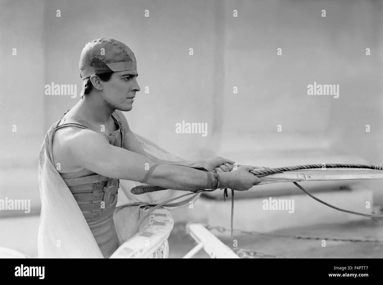 Ramon Novarro / Ben-Hur : un racconto del Cristo / 1925 diretto da Fred Niblo [Metro Goldwyn Mayer Pictures] Immagini Stock