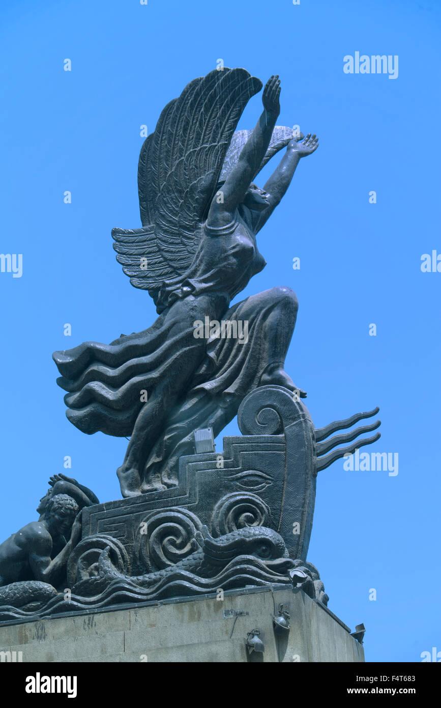 Sud America, America Latina, del Perù, Lima, Monumento Immagini Stock