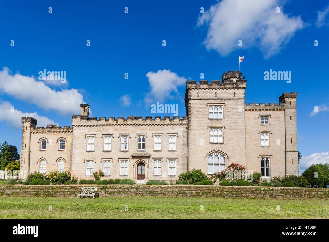 Inghilterra, Kent, Chiddingstone, Chiddingstone Castle Immagini Stock