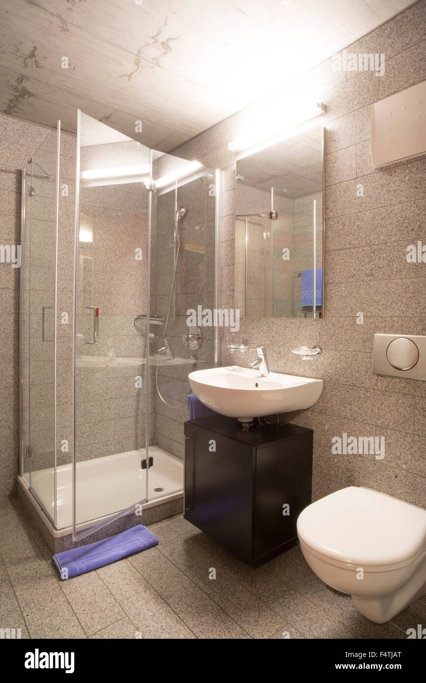 Camera in hotel Inn Lodge, Immagini Stock