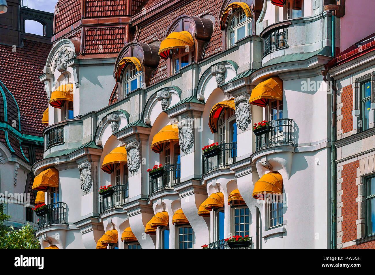 Svezia Stoccolma l'elegante stile Liberty Hotel Diplomat Immagini Stock