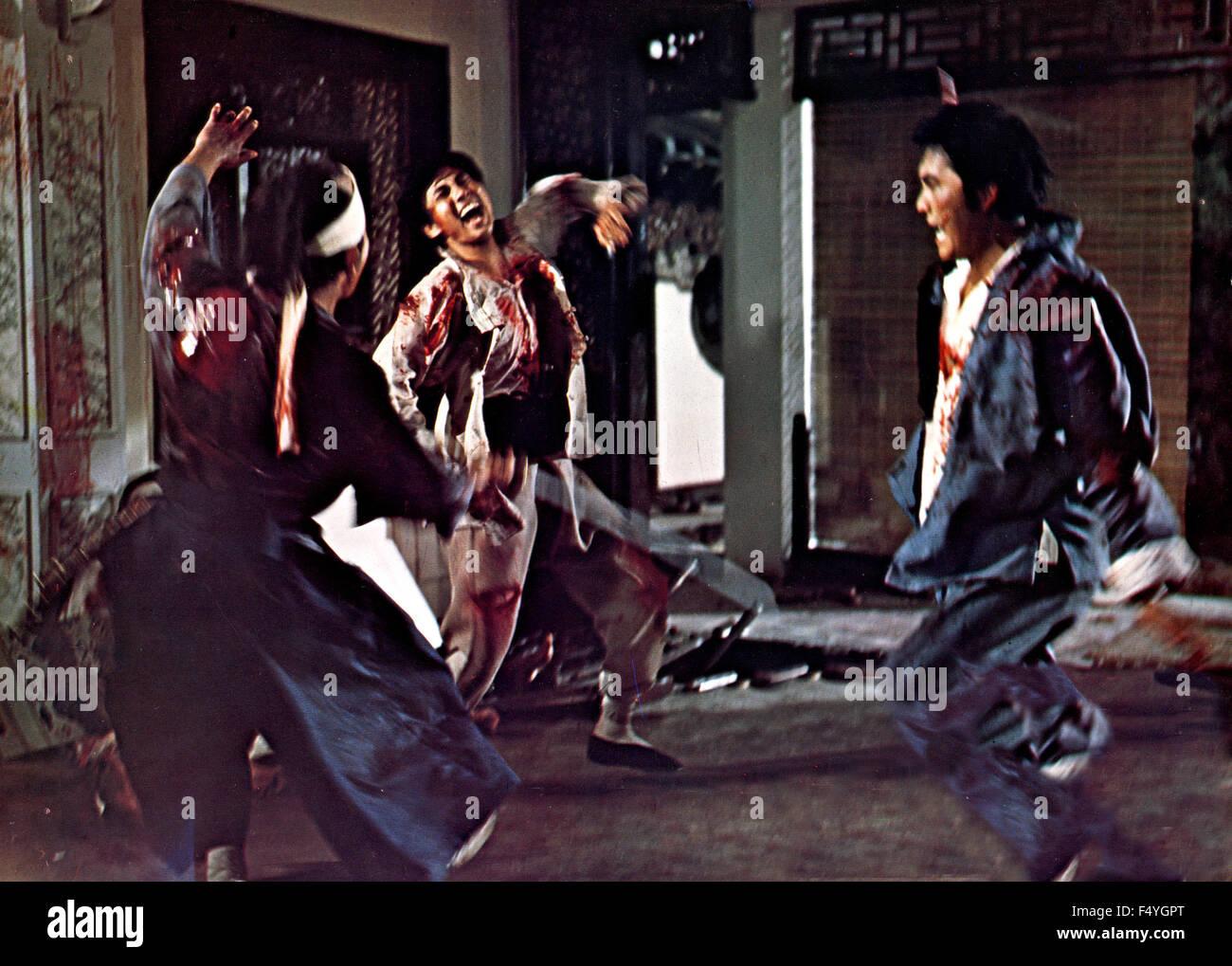Una scena del film 'Killer' Immagini Stock