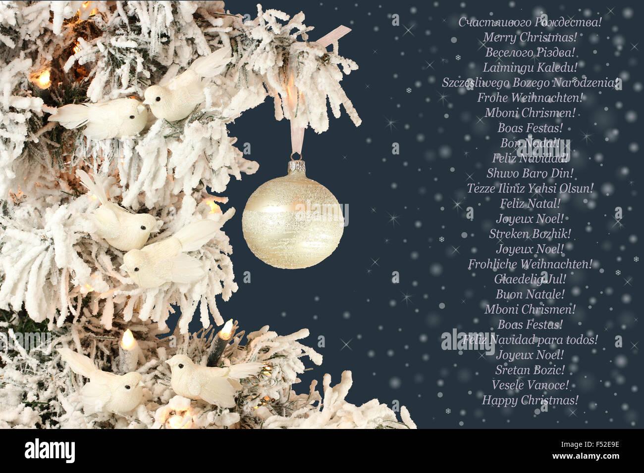 Decorazioni Albero Di Natale Blu : Heelinna natale fiocco di neve natalizia porta ornamenti pendenti