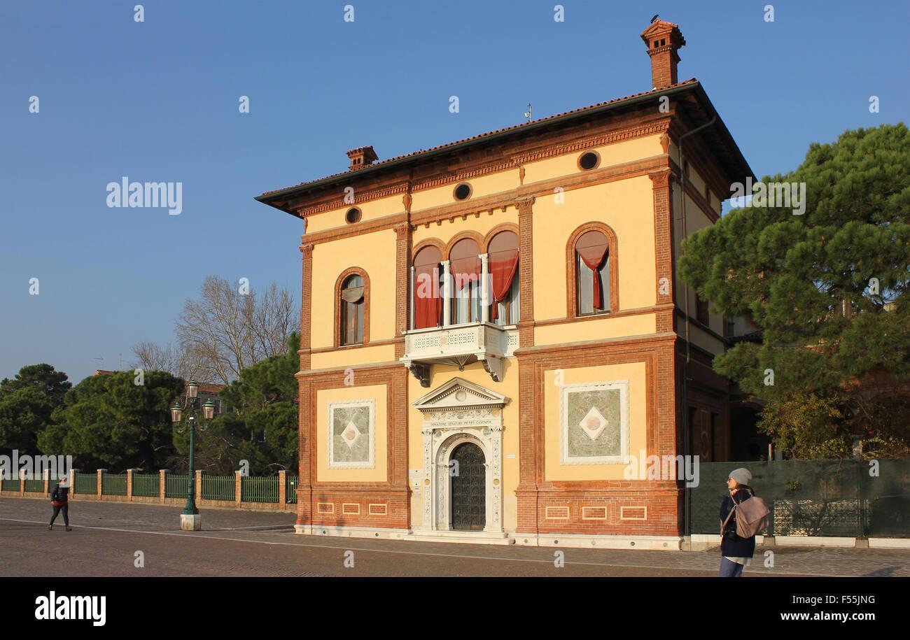 Italia Venito Venezia architettura, Riva dei Sette Martiri Zoe Baker Immagini Stock