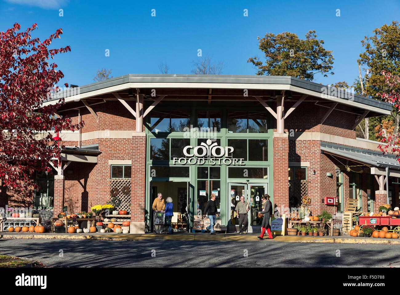 Coop, negozio di alimentari, Libano, New Hampshire, STATI UNITI D'AMERICA Immagini Stock
