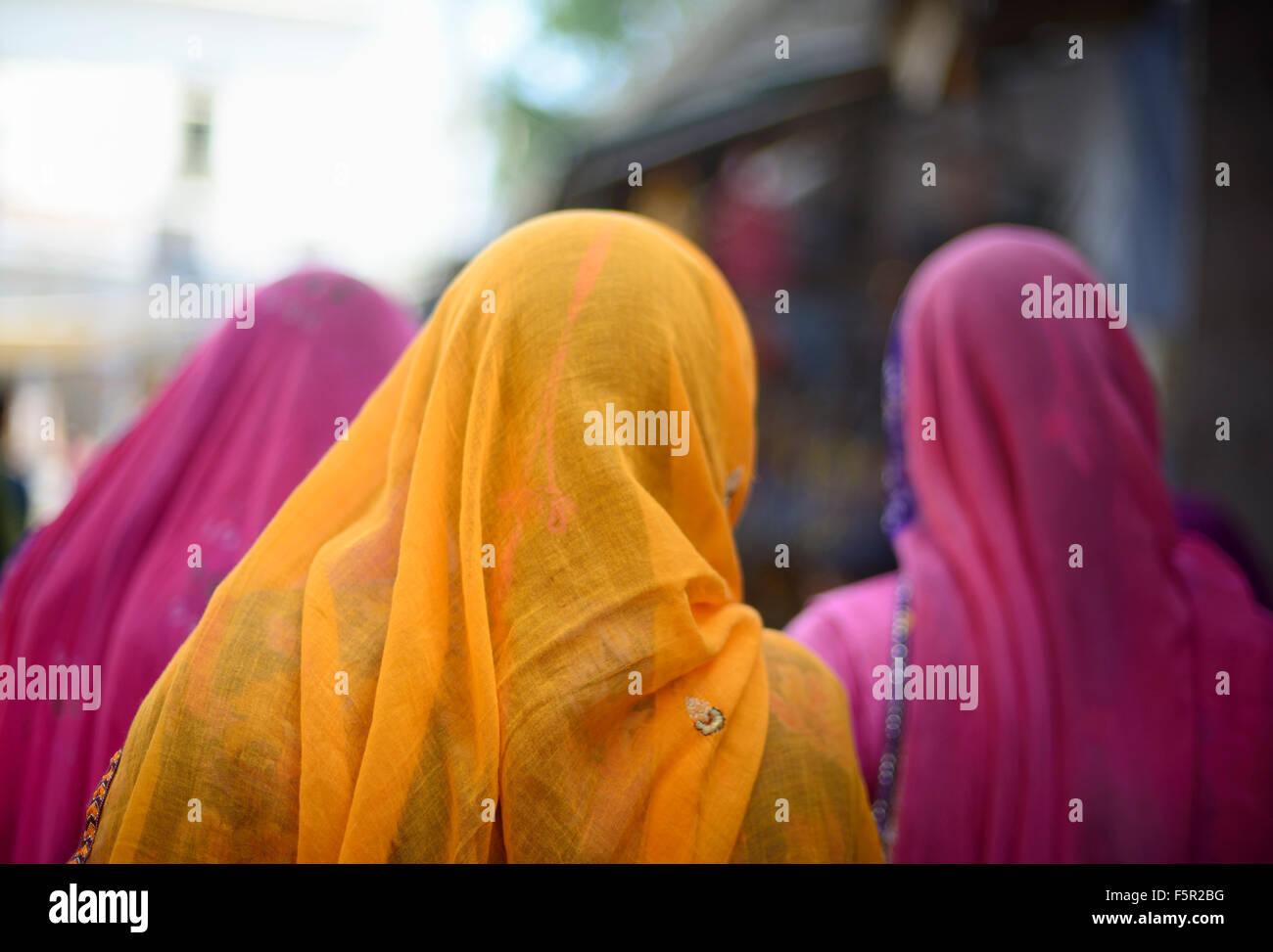 Rajasthani donne Immagini Stock