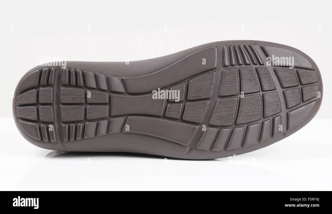 Gomma suola di una calzatura Immagini Stock