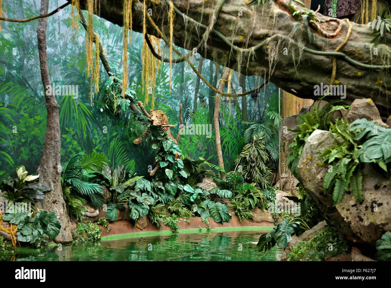 """""""Il mondo di scoperte' un museo interattivo - parco tematico in porto, Porte e Norte, Portogallo. Immagini Stock"""