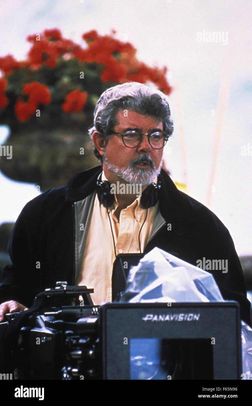 Star Wars II, l'attacco dei cloni Anno : 2002 USA Direttore : George Lucas George Lucas immagine di scatto Immagini Stock