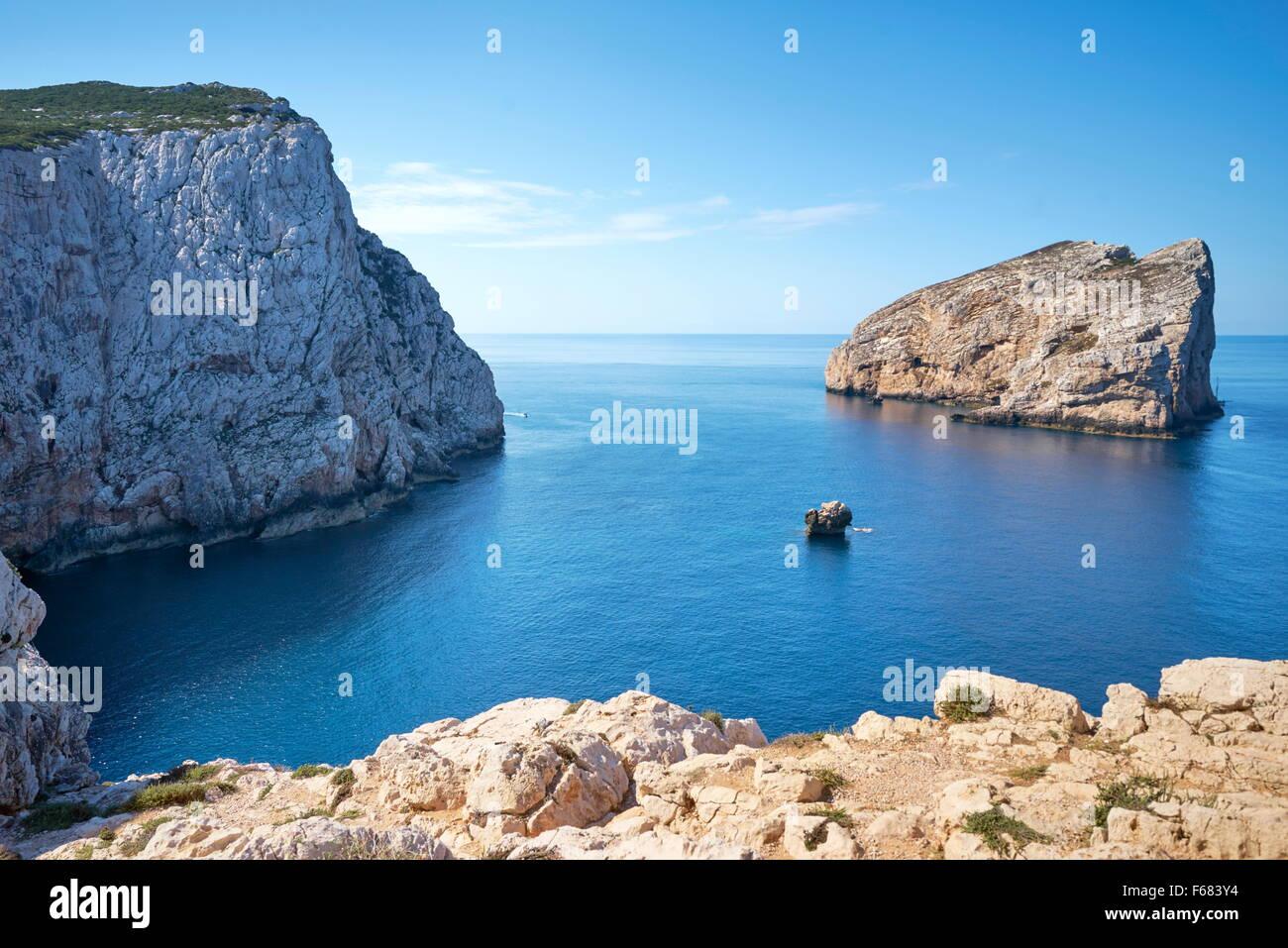 Porto Conte Parco Nazionale, Alghero, Sardegna, Italia Immagini Stock
