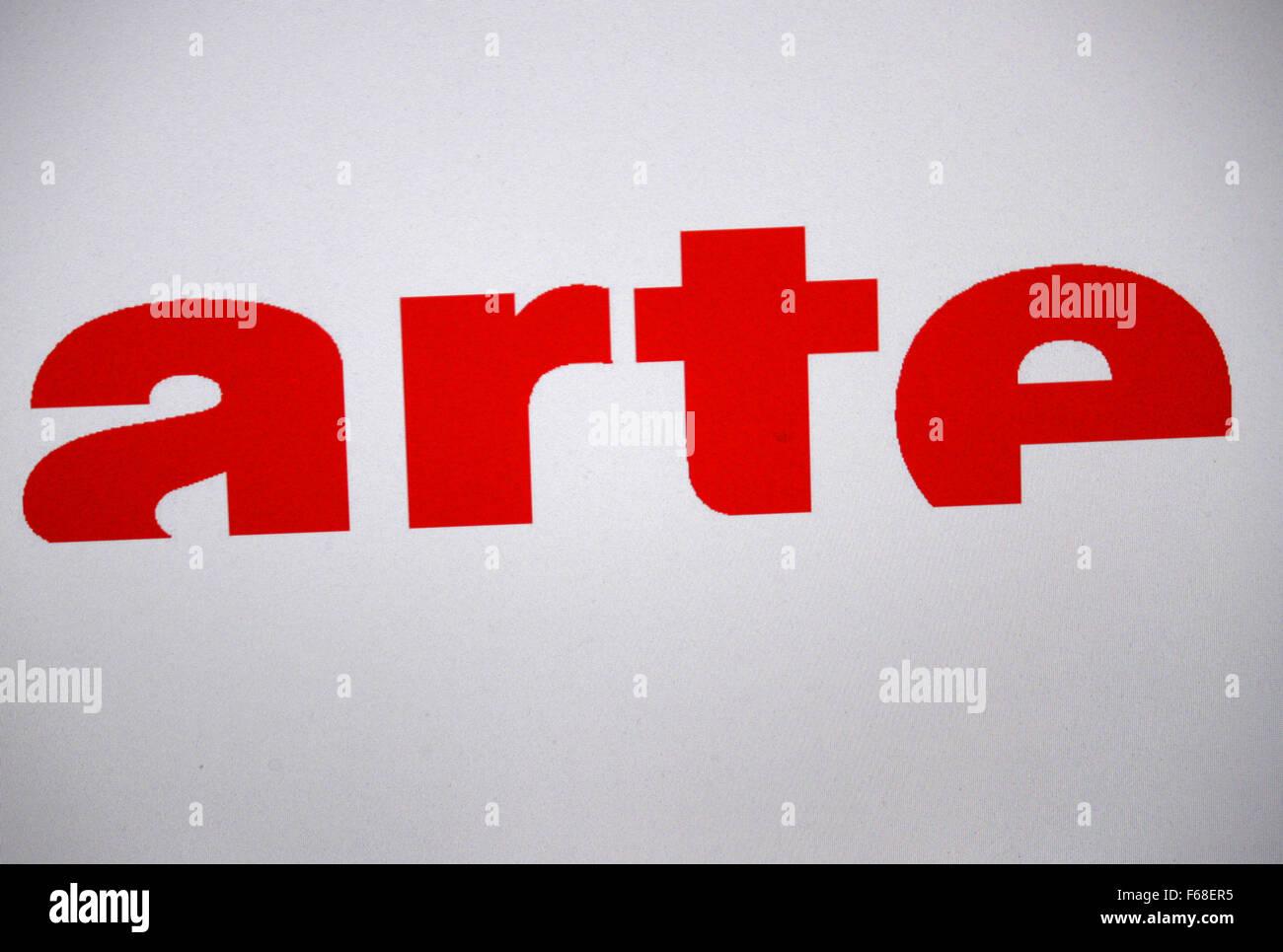 Markenname: 'arte', Berlino. Immagini Stock