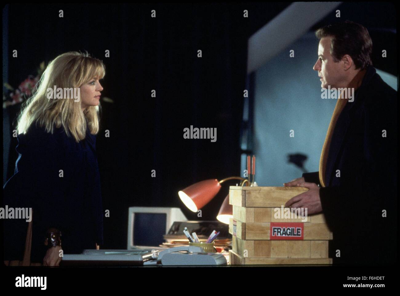 1991, il titolo del film: ingannati, Direttore: DAMIAN HARRIS, Studio: TOUCHSTONE, nella foto: Goldie Hawn, John Immagini Stock