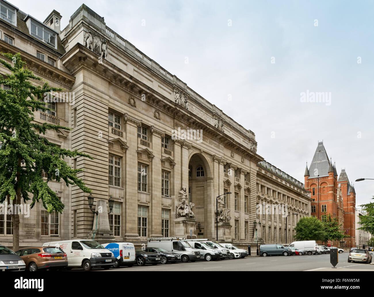 Imperial College di Londra. Scuola Reale di mine Building. Foto Stock