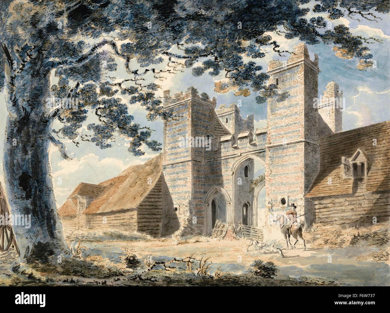 Joseph Mallord William Turner - Dent de Lion, Margate Immagini Stock