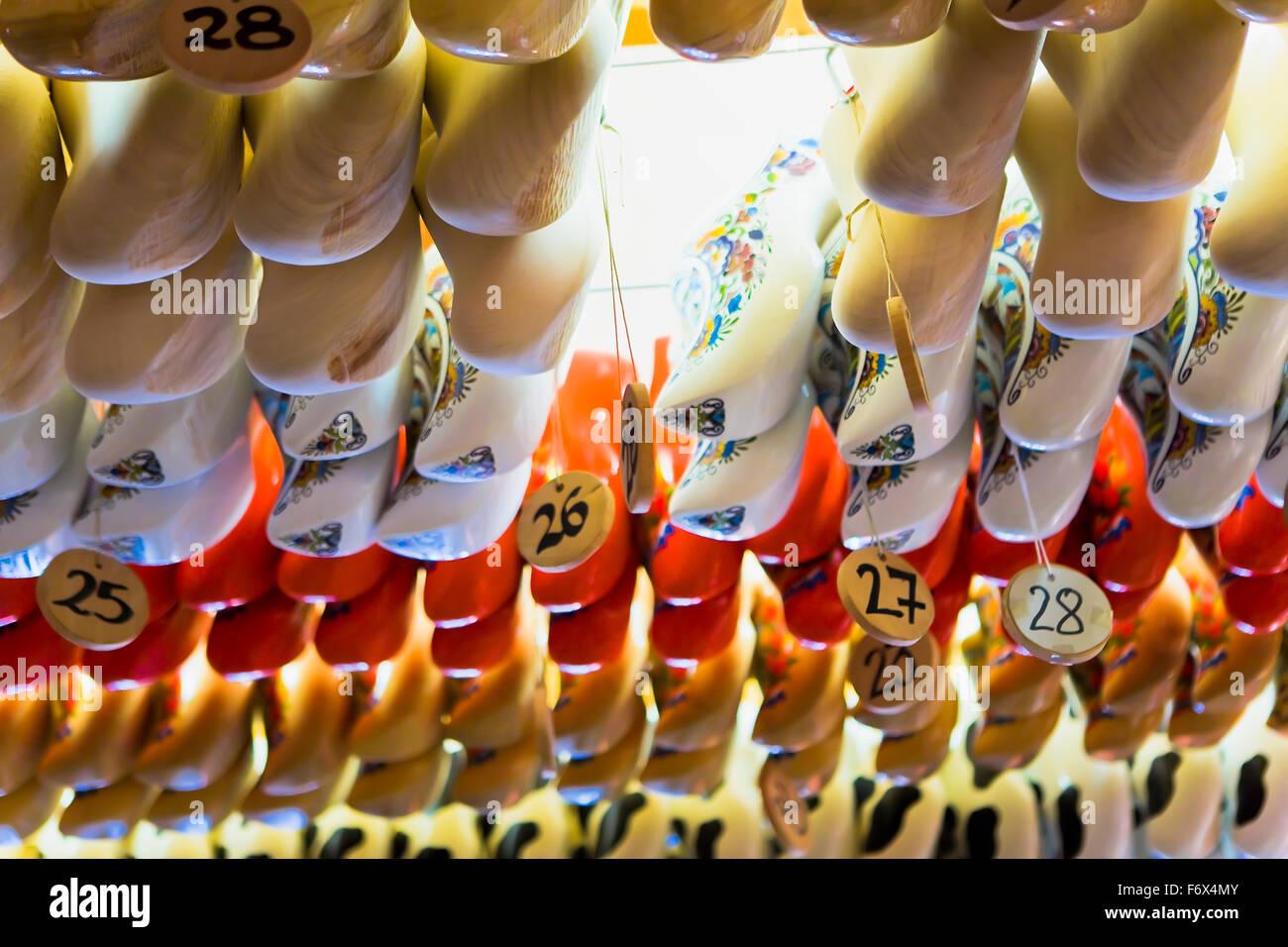 Zoccoli in vendita Immagini Stock