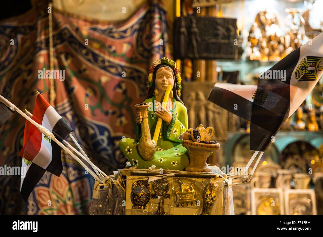 Egitto Cairo Khan el-Khalili Cairo Vecchio accento City Immagini Stock