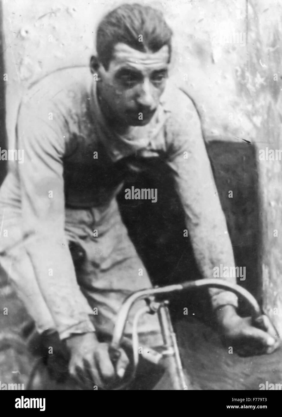 Giovanni micheletto,Giro di Lombardia 1910 Immagini Stock