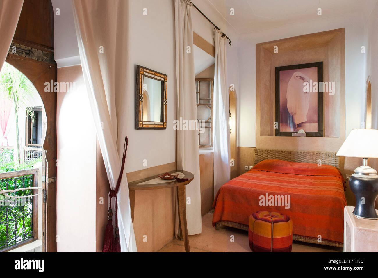 Camere Da Letto Marocco : Camera da letto nel riad el zohar marrakech marocco foto