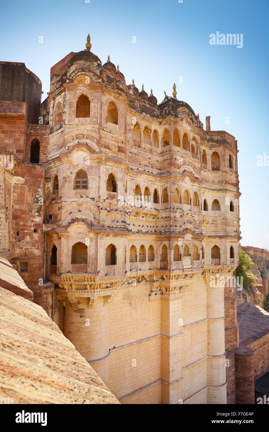 Forte Mehrangarh, Jodhpur, Rajasthan, India Foto Stock