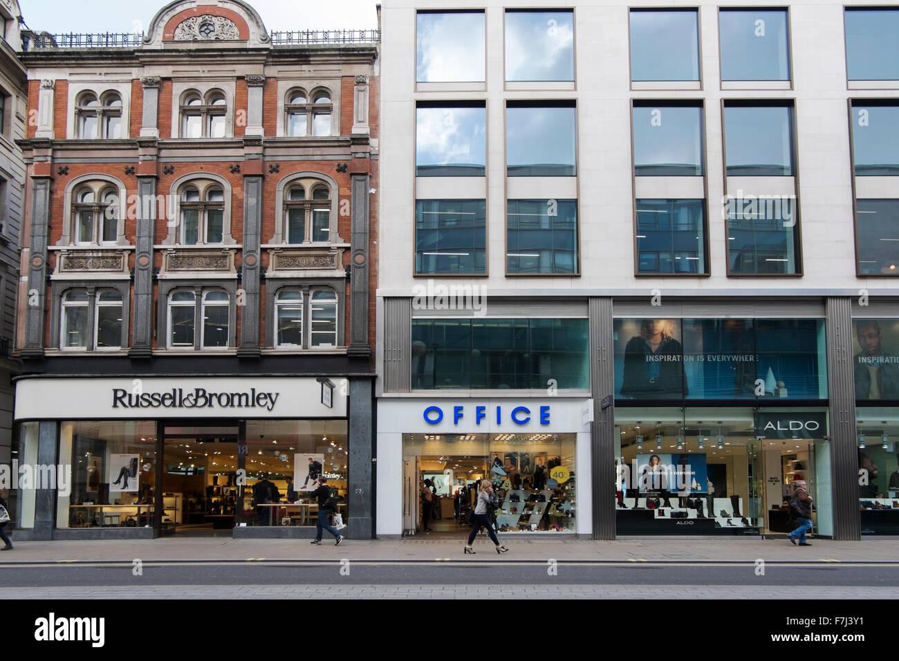 brand new dfc37 e9861 Russell e bromley, ufficio e aldo negozi di scarpe in oxford ...
