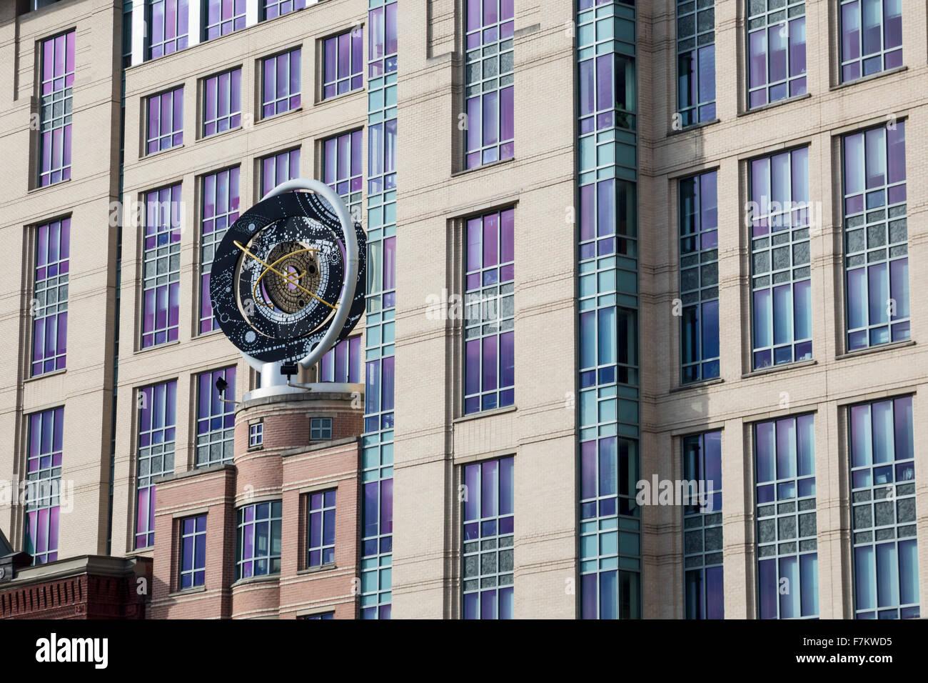 Washington, DC - Il Centro di Keck delle accademie nazionali delle scienze, ingegneria e medicina. Immagini Stock