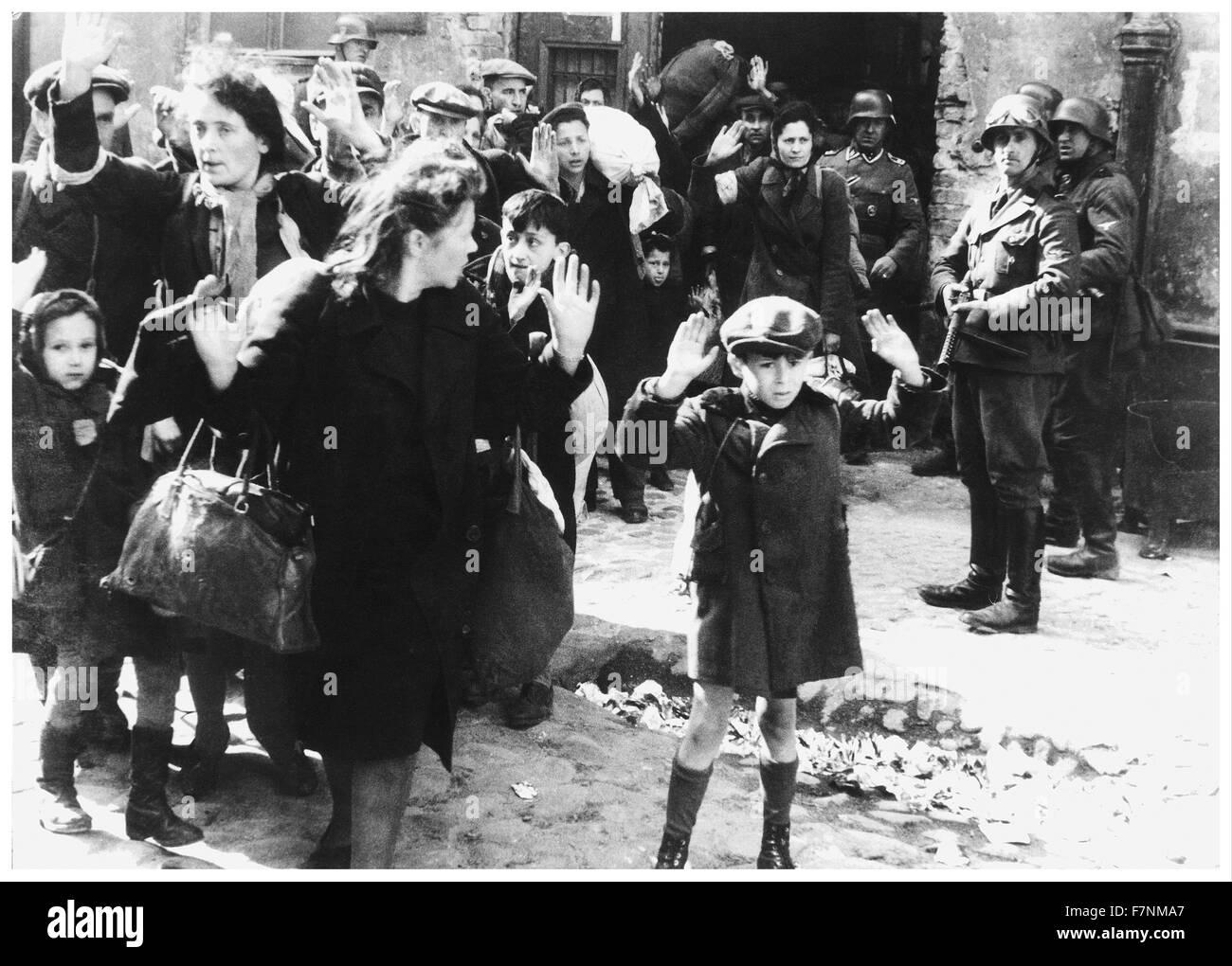 Olocausto La Seconda Guerra Mondiale Varsavia Gli Ebrei A