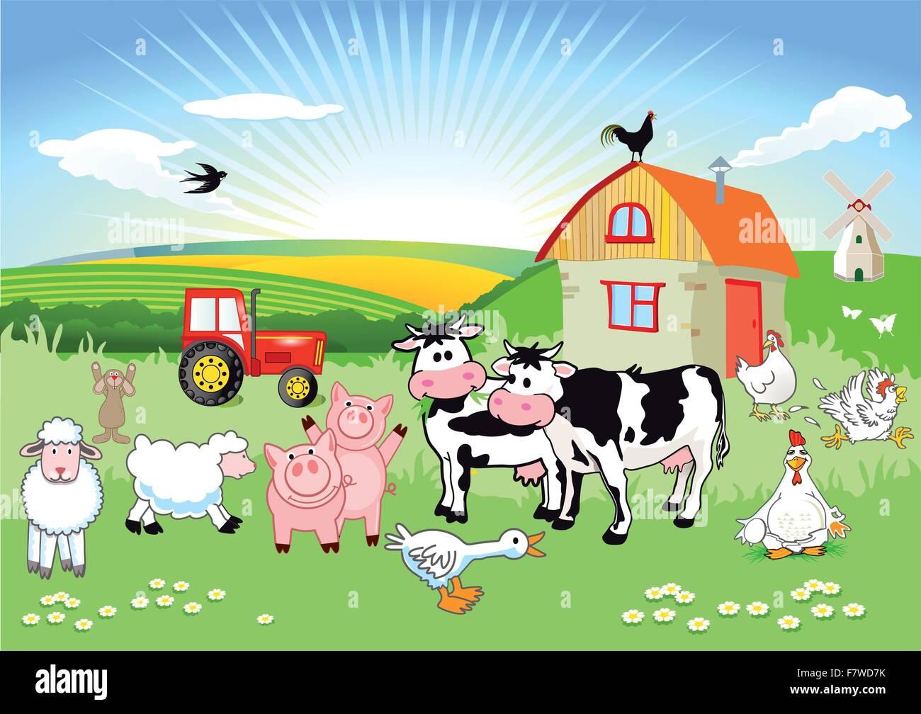 Gli animali della fattoria youtube