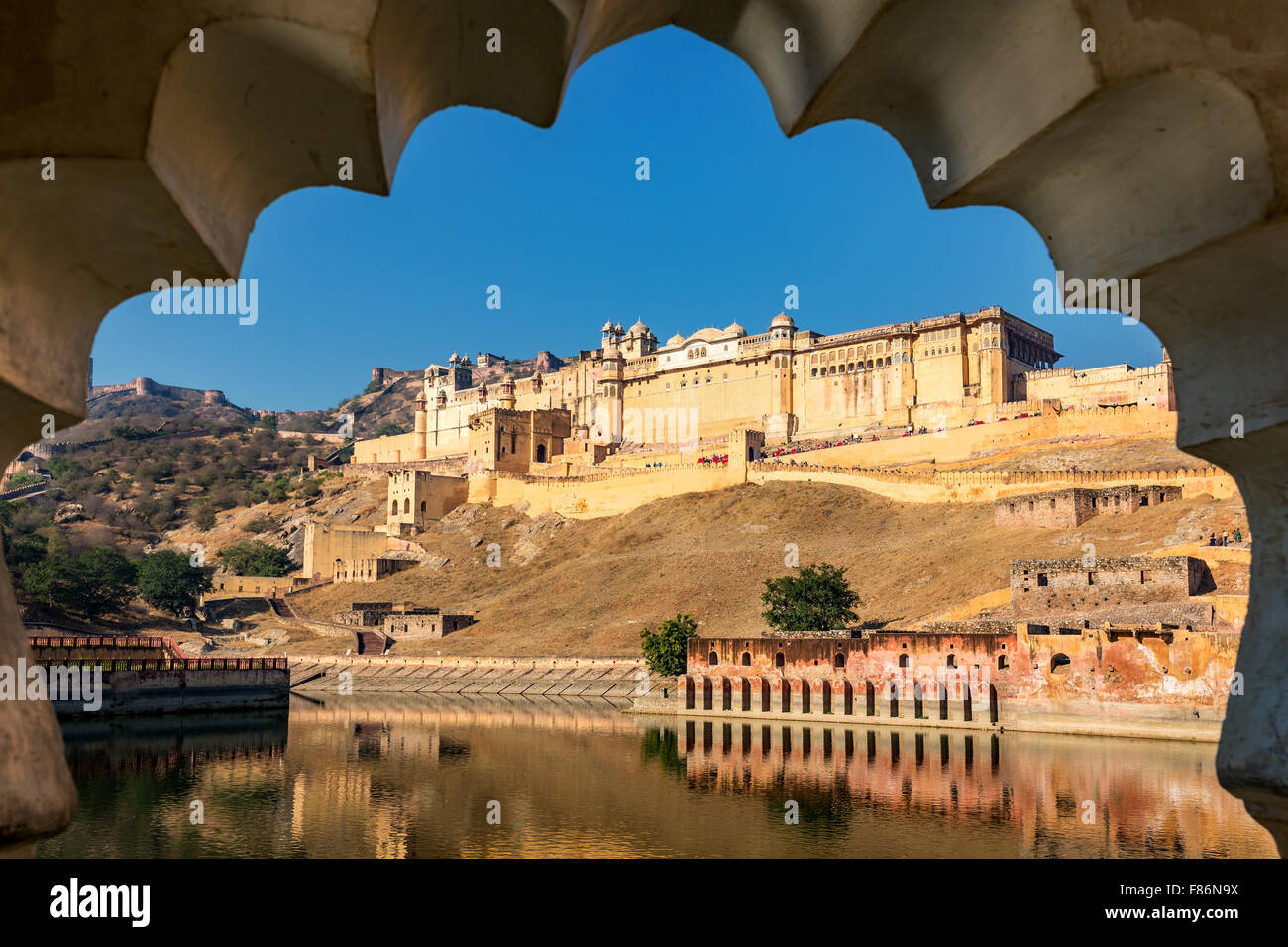 Amber Fort, a Jaipur, India Immagini Stock