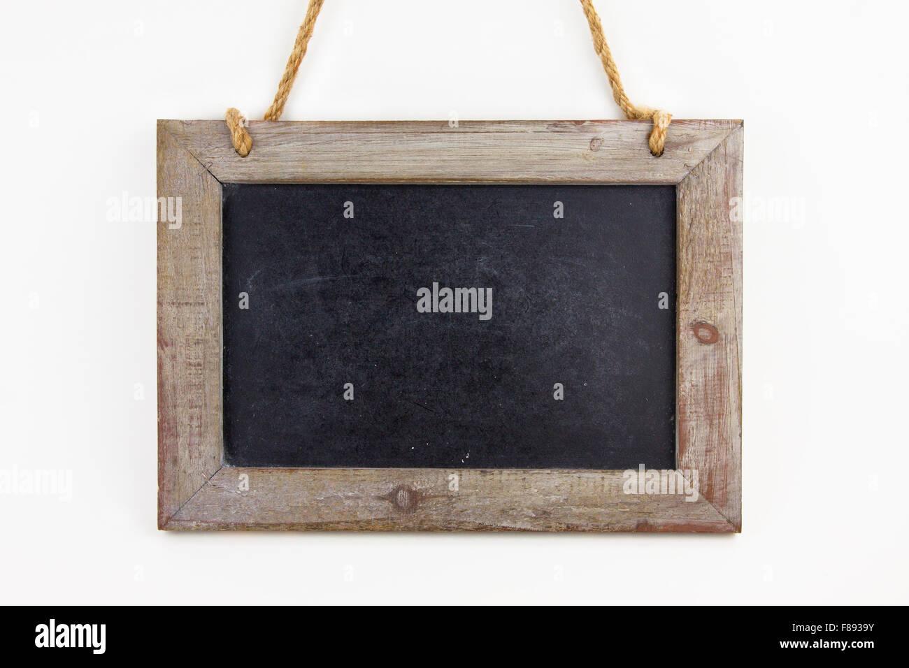 Leere Tafel aus Holz Immagini Stock