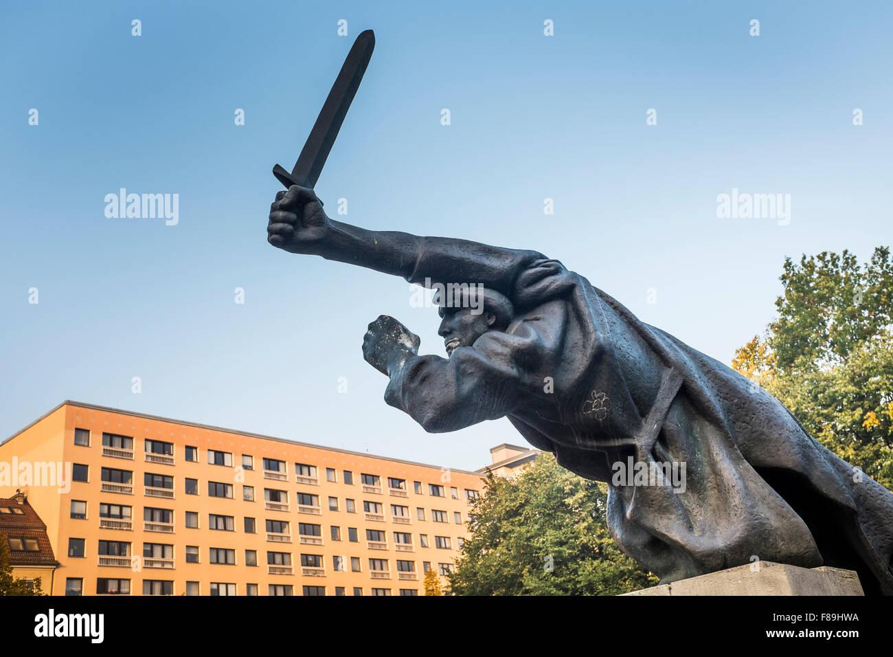 Monumento alla Guerra Civile Spagnola, Berlino, Germania Immagini Stock