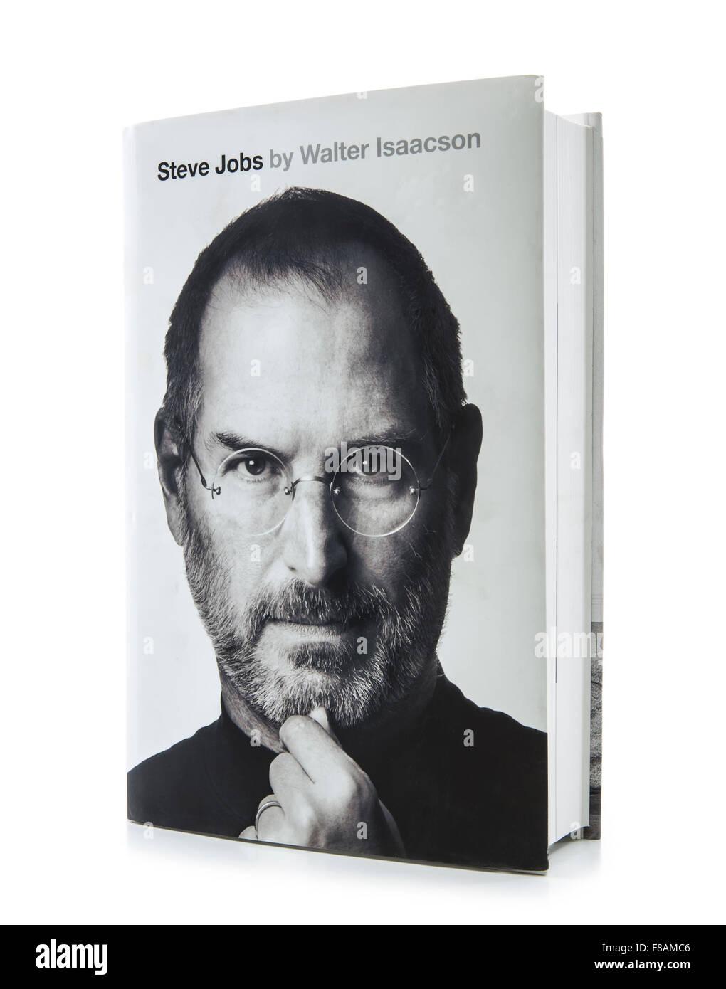 860b40b23e2 Steve Jobs Biografia di Walter Isaacson Foto & Immagine Stock ...
