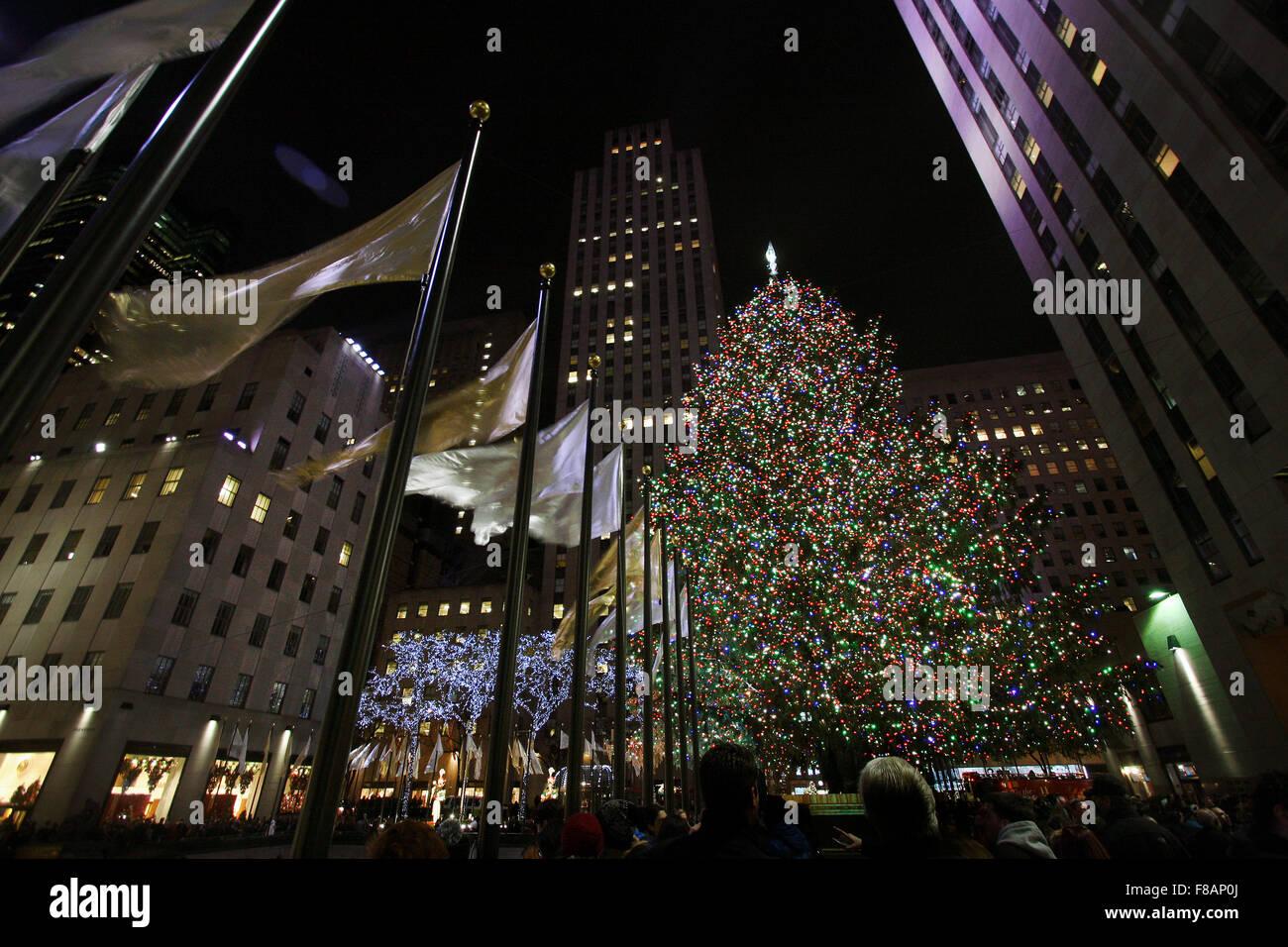 Frasi Natale A New York.Albero Di Natale A New York