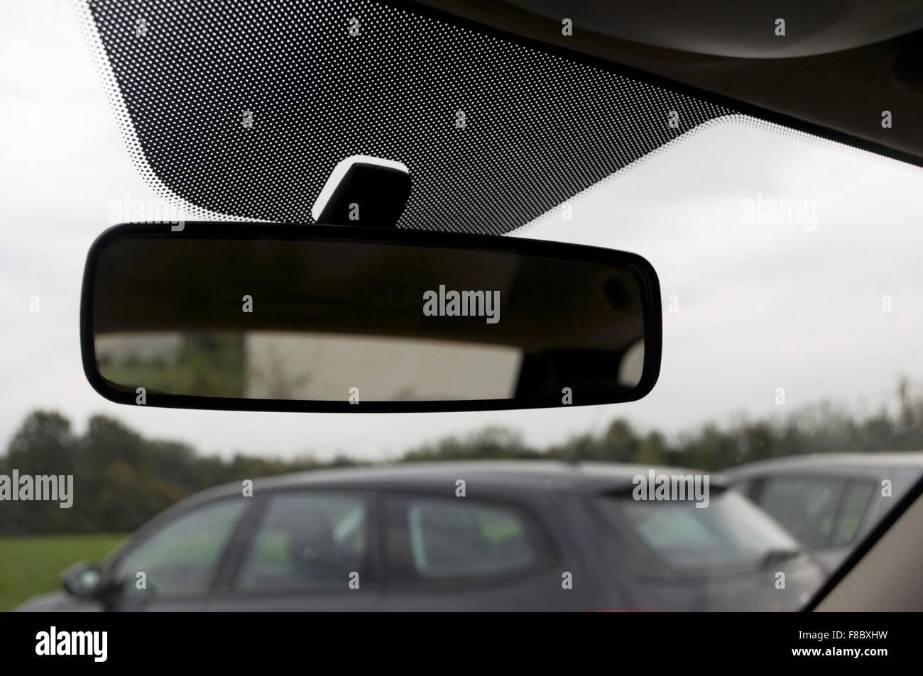 Specchietto retrovisore Immagini Stock