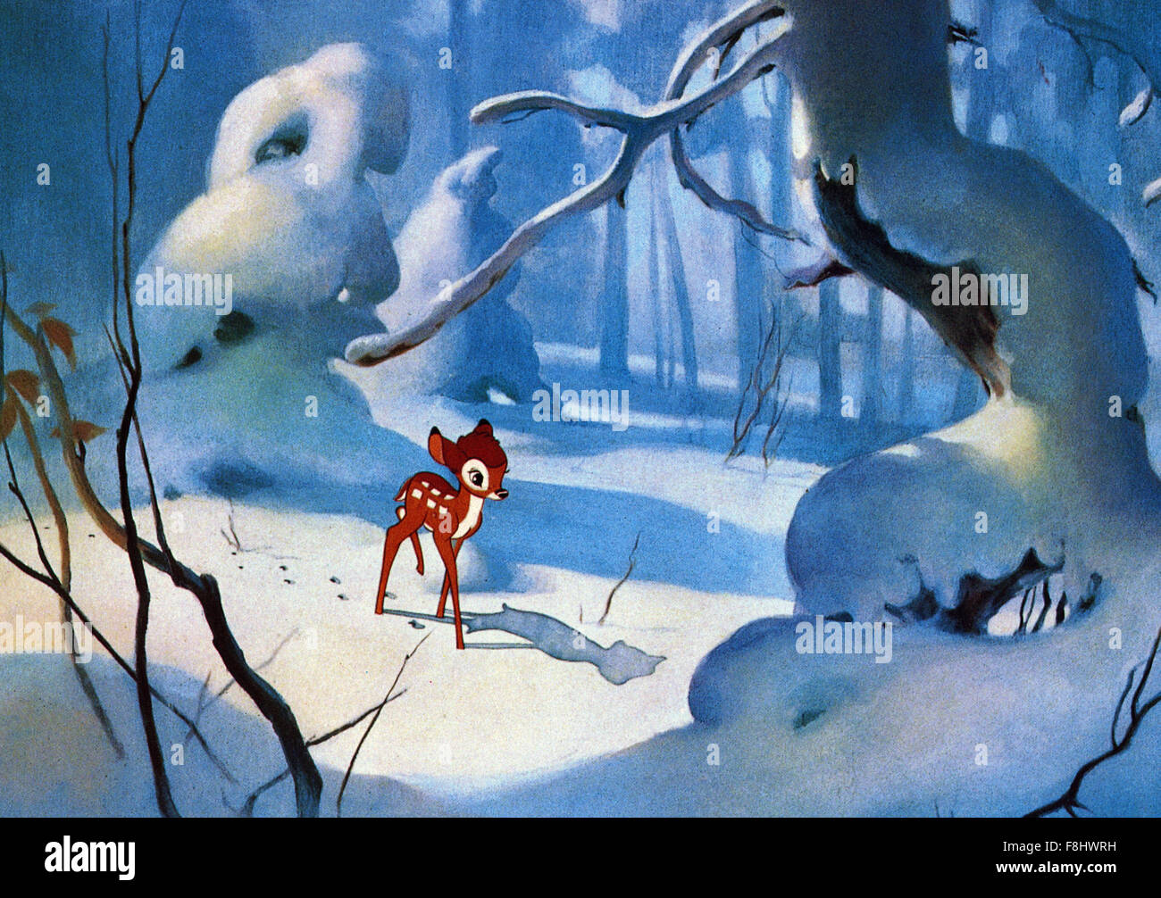 Bambi walt disney pictures 1942 direttore david d. mano foto
