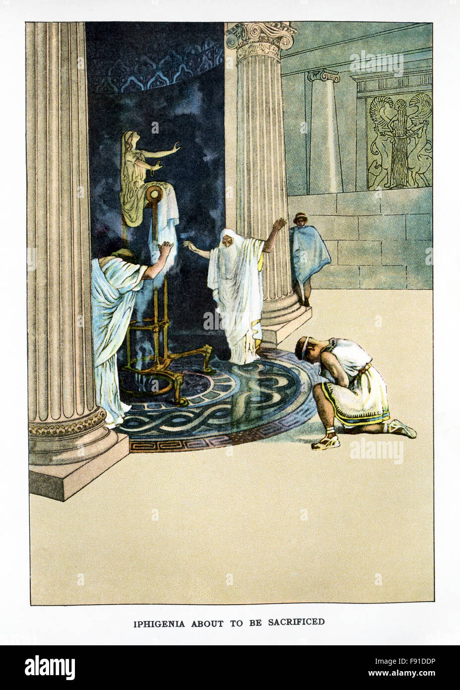 Iphigenia era la figlia di agamennone leader delle forze for Il tuo account e stato attaccato