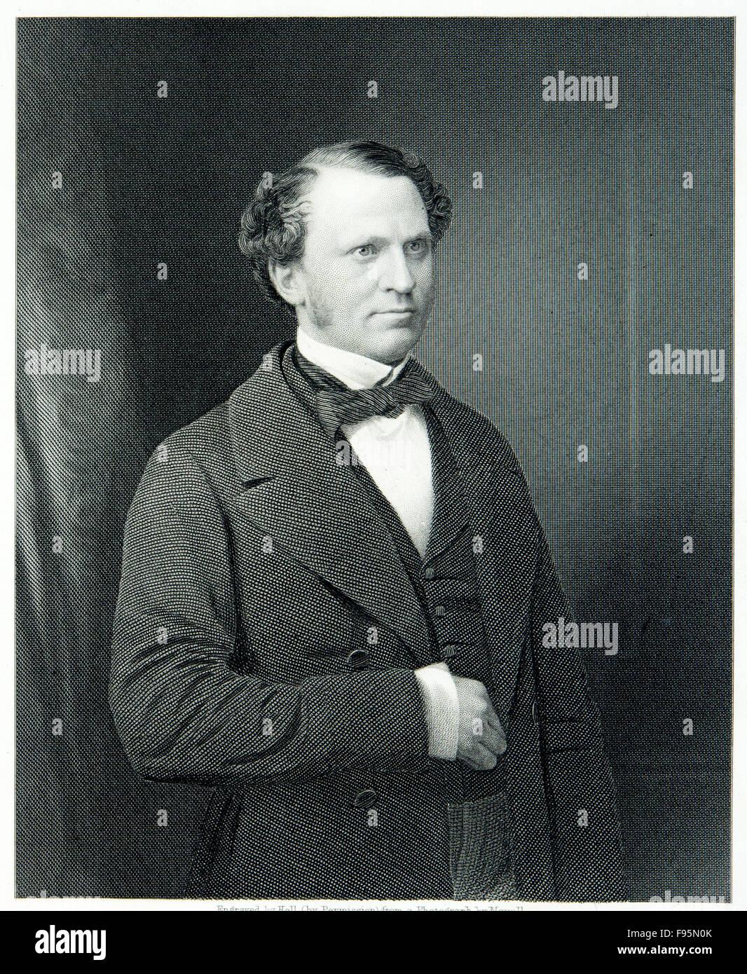 L'onorevole Edward Henry Stanley, Conte di Derby. Immagini Stock