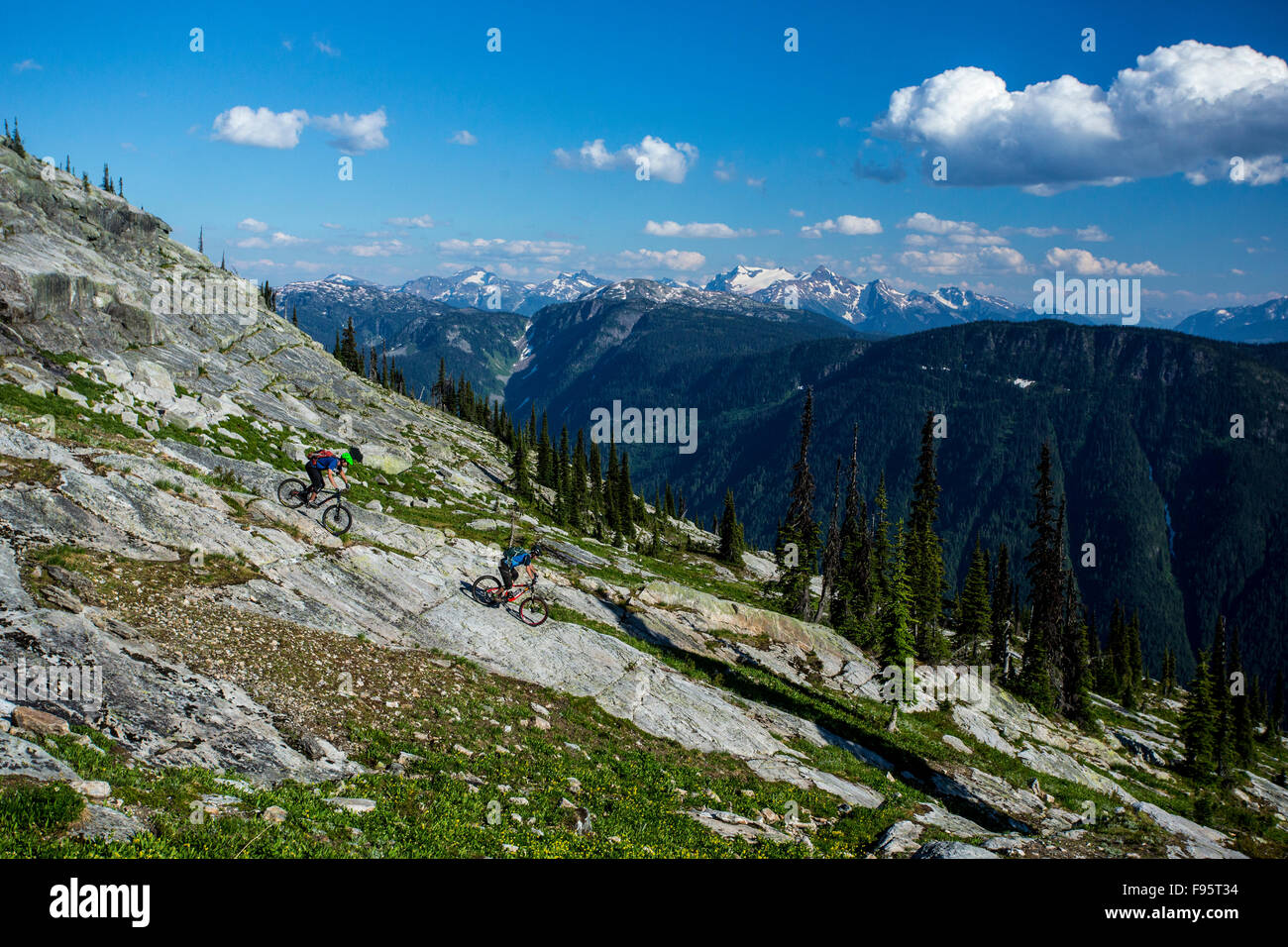 Mountain Bike Eagle Pass Mount Inglese Montagne Monashee