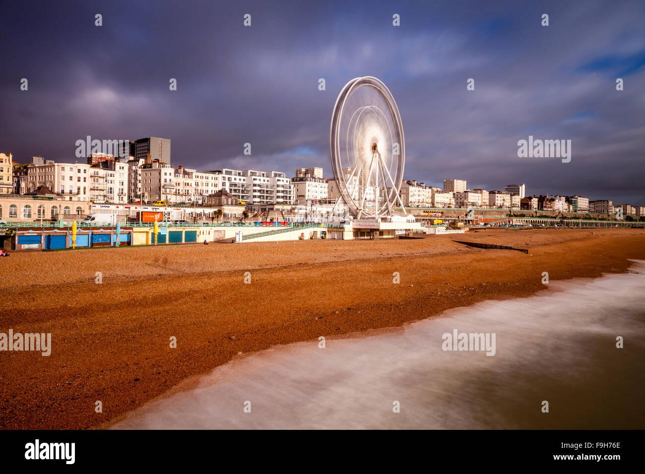 Il Lungomare, Brighton, Sussex, Regno Unito Immagini Stock