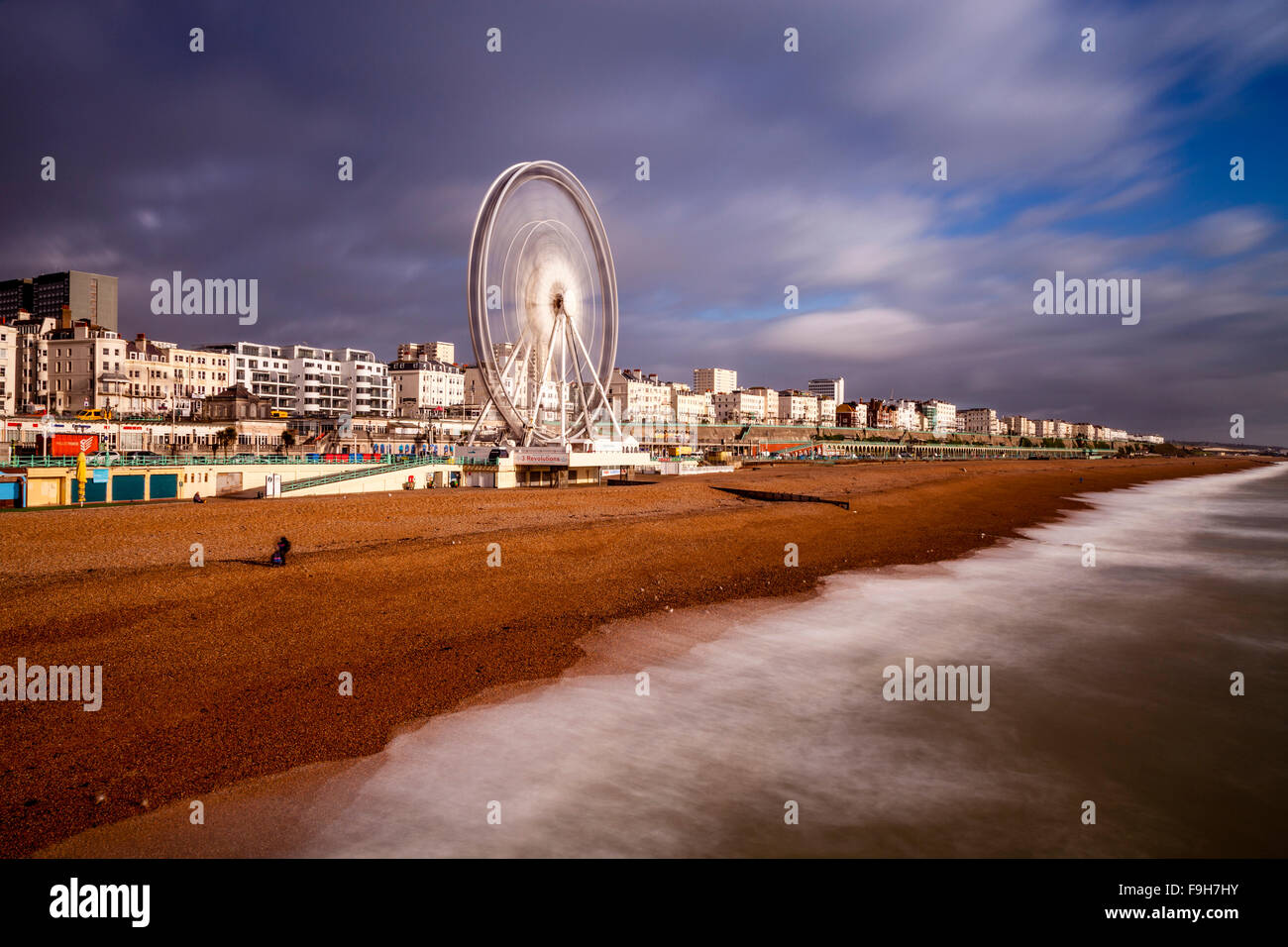 Il Lungomare, Brighton, Sussex, Regno Unito Foto Stock