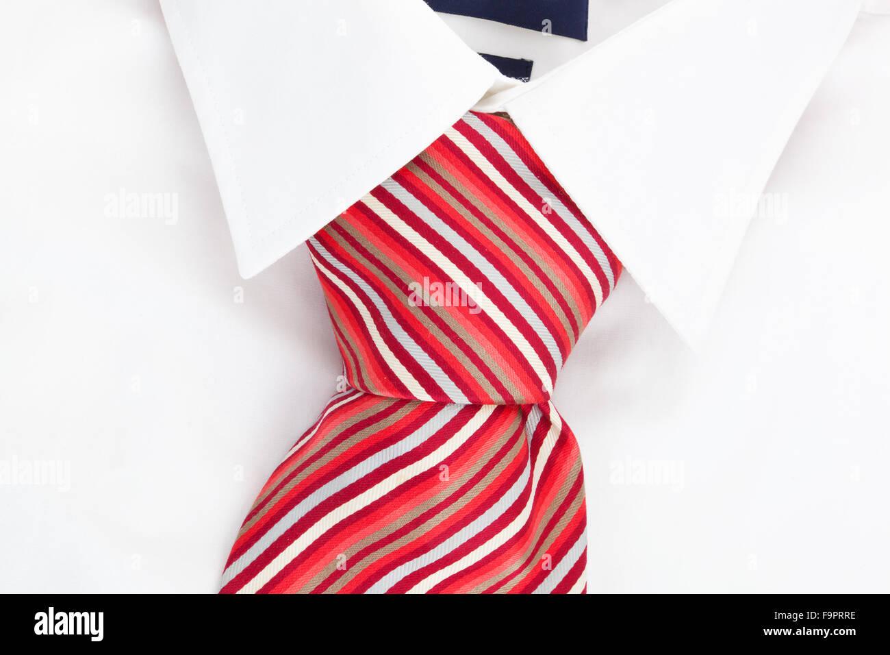 La camicia e cravatta. Carriera Immagini Stock