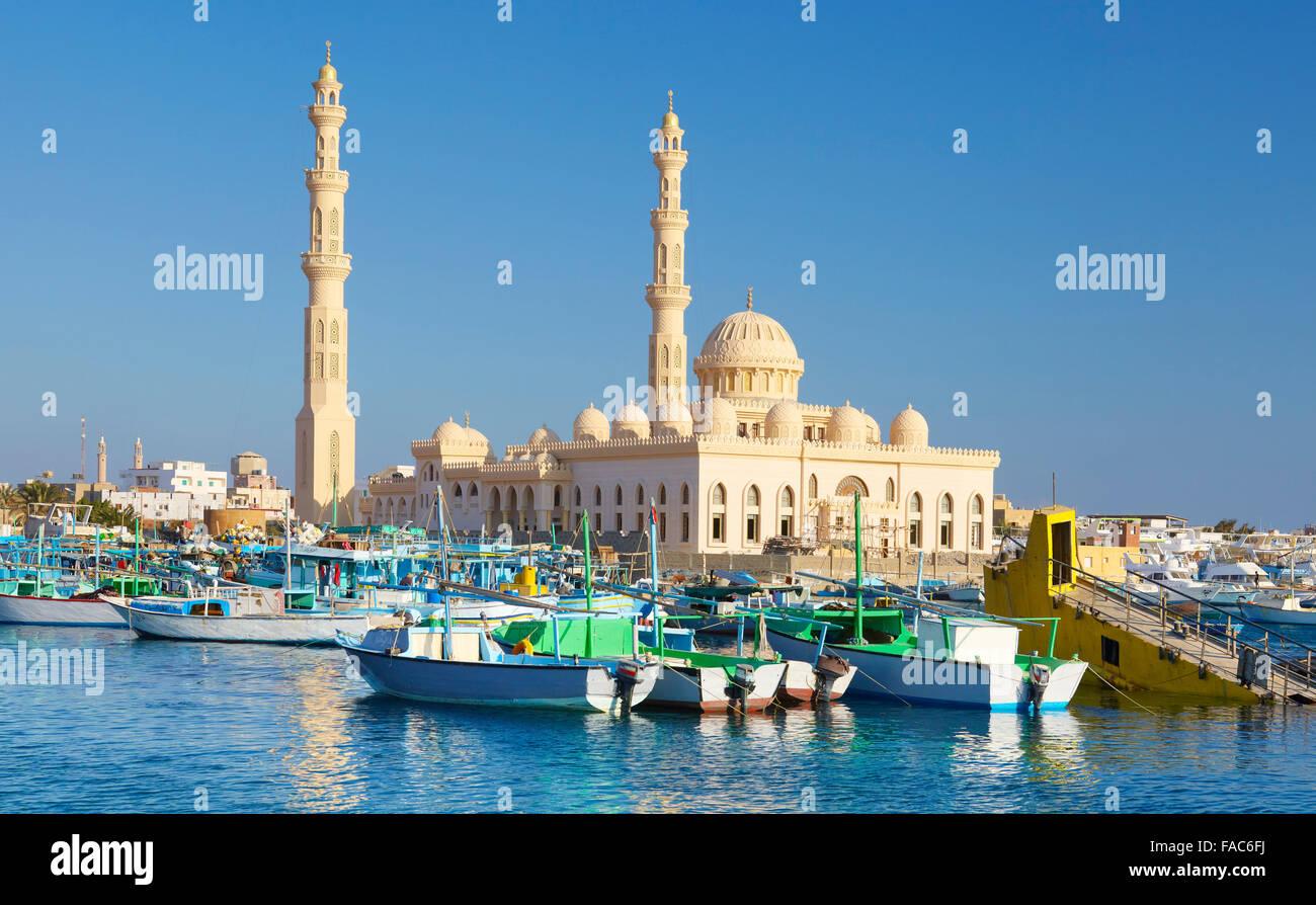 Egitto - Hurghada Marina Immagini Stock