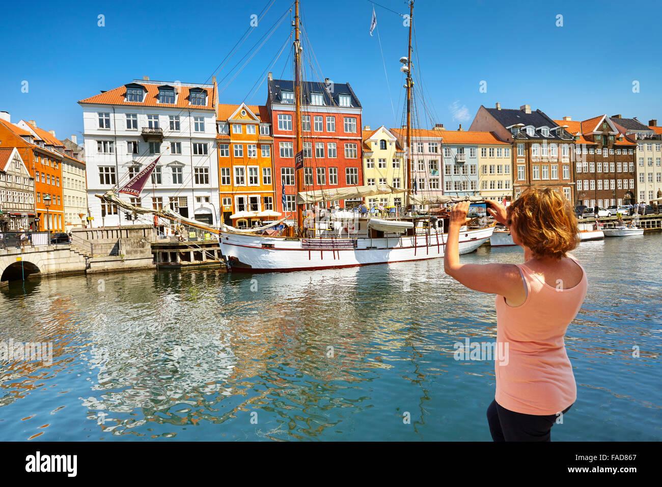 Copenaghen, Danimarca Foto Stock