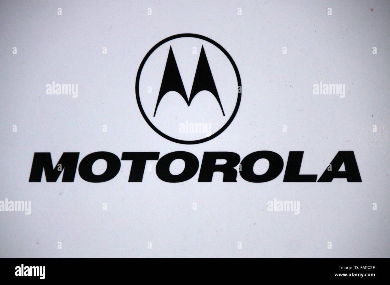 Markenname: 'Motorola', Berlino. Foto Stock