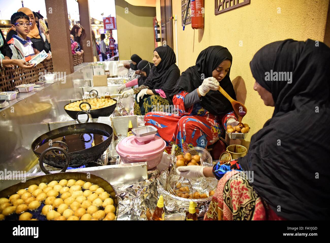 Villaggio Globale Dubailand, Dubai, UAE ha affermato di essere la più grande del mondo del turismo, del tempo Immagini Stock