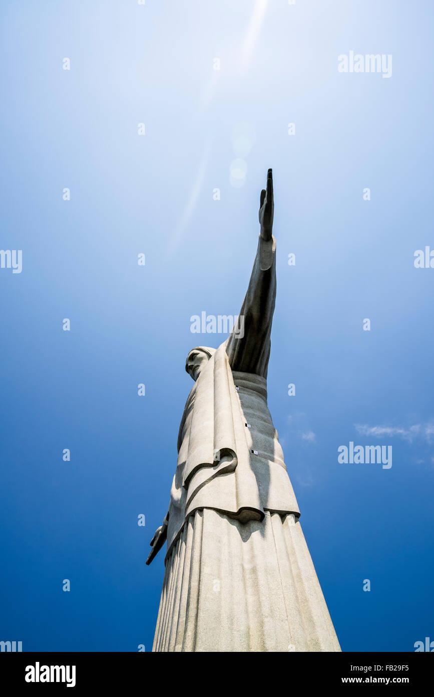 Cristo Redentore statua, Rio de Janeiro, Brasile Immagini Stock
