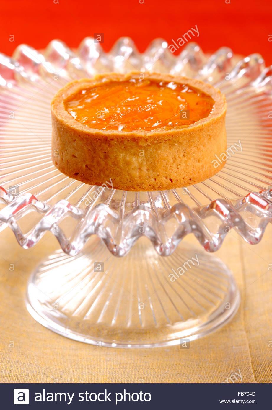 Bavarese con arance amare,galdina della seta,pasticceria galdina,MILANO Immagini Stock