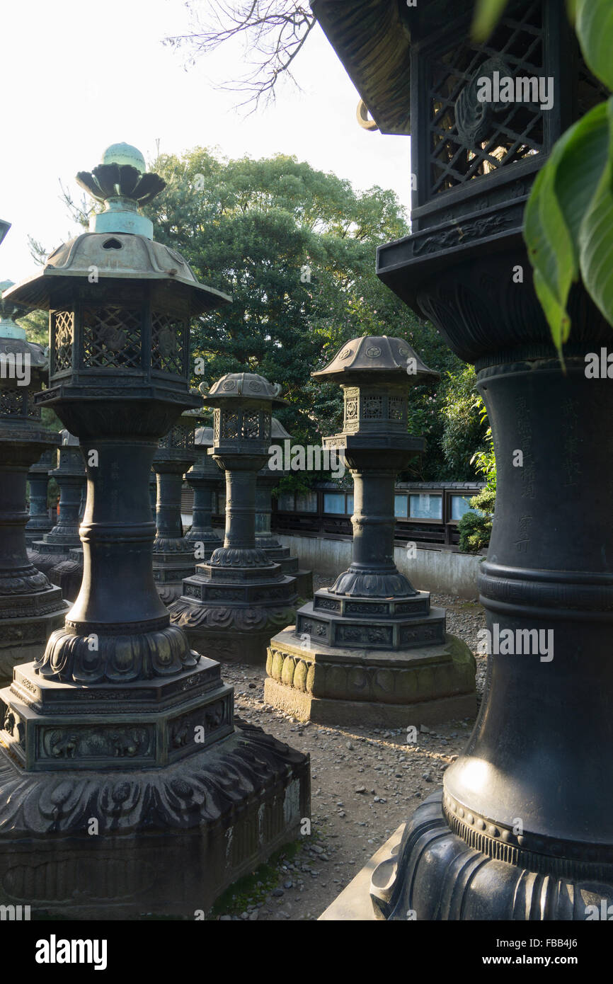 Nel Parco di Ueno, Tokyo Giappone Immagini Stock