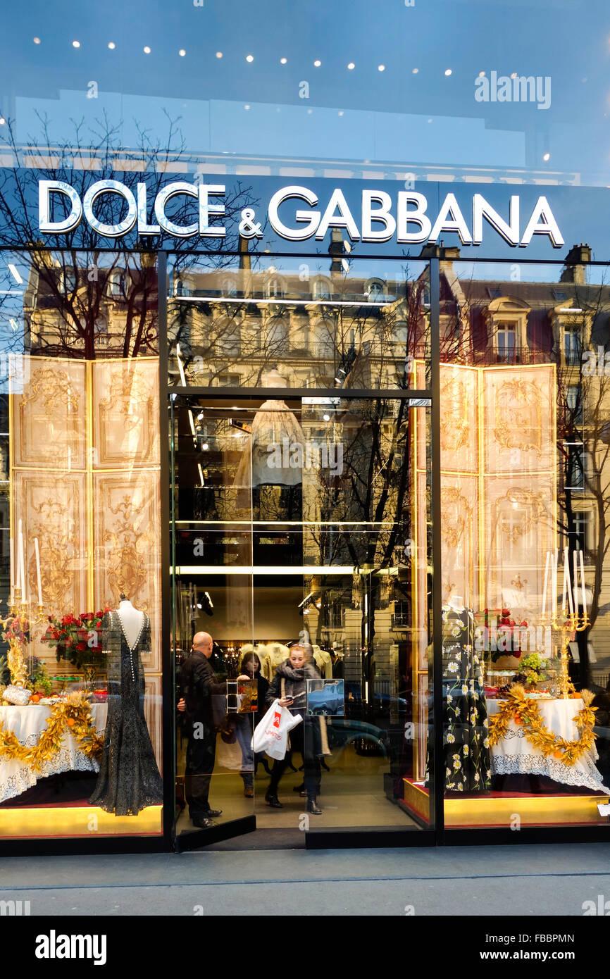 Luxury dolce gabbana della casa di moda di ingresso la for Casa design outlet